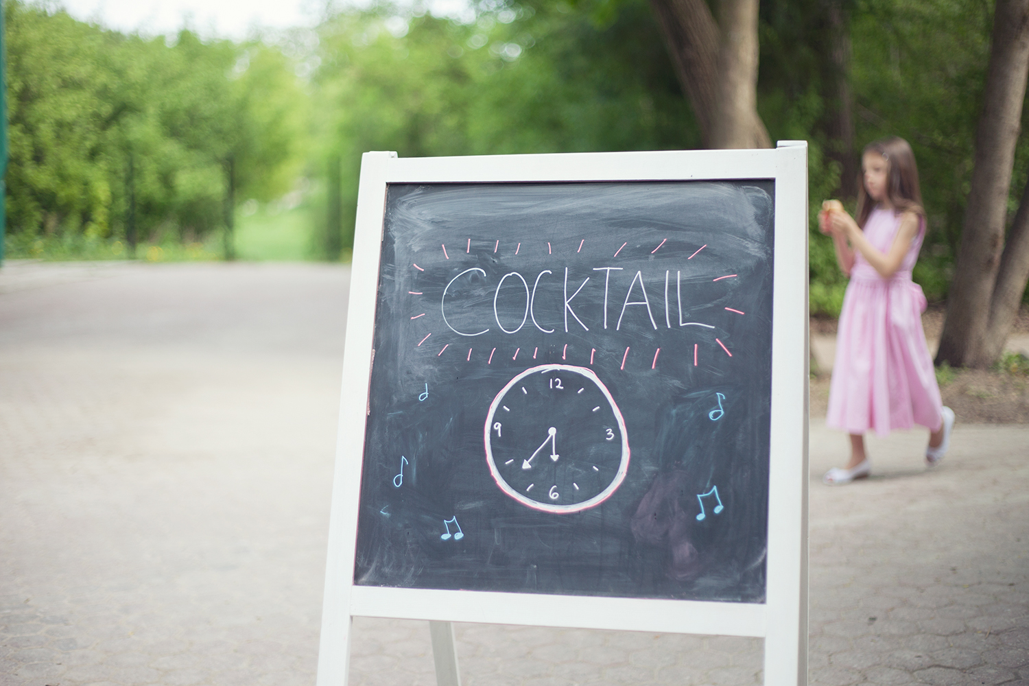 cocktail sign outdoors